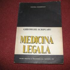 Medicina Legala - Gheorghe Scripcaru