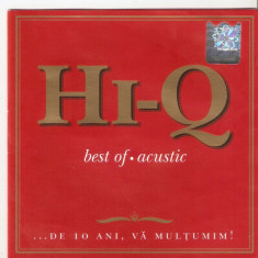Hi-Q – Best Of: Acustic (1 CD) - Muzica Dance cat music