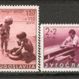 Iugoslavia.1939 Ajutor ptr. copii CA.485, Nestampilat