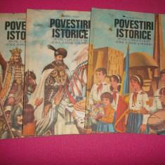 Povestiri istorice, Dumitru Almas 3 volume - Carte educativa