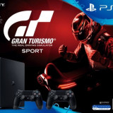 Consola SONY PlayStation 4 Slim, 1TB + Extracontroller + Gran Turismo Sport - Consola PlayStation