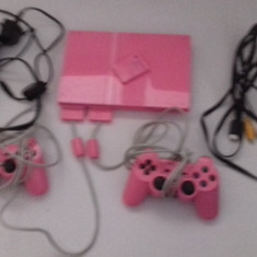Consola PS2 SLIM - PlayStation 2 Sony - PINK EDITION (003)