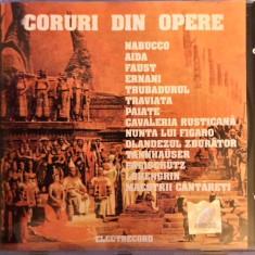 Coruri Celebre Din Opere (editia Electrecord din 1990) (1 CD) - Muzica Corala