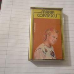 Caseta electrecord veche maria cornescu tanara c17 - Muzica Lautareasca electrecord, Casete audio