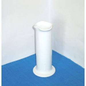 Vaza ceramica alba emailata - Bouquet - semnata Karin Bjorquist, Gustavsberg