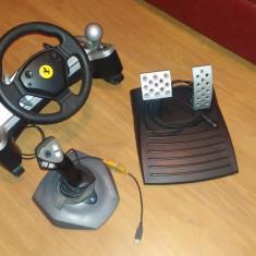 Volan cu pedale si joystick Thrustmaster