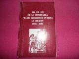 160 de ani de la infiintarea primei biblioteci publice la Brasov 1835-1995