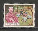 Italia.1970 100 ani nastere Maria Montessori-pedagog  CA.483, Nestampilat