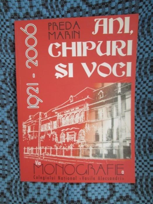 Marin PREDA - MONOGRAFIE A COL. NATIONAL VASILE ALECSANDRI BACAU (cu AUTOGRAF!!)