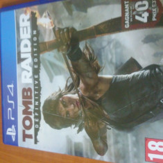 Tomb Raider Ps4 - Consola PlayStation