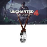 Pandantiv Colier Lantisor Medalion Uncharted 4 inel Nathan Drake ps4