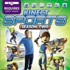 Kinect Sports Season Two (Kinect) - XBOX 360 [Second hand] - Jocuri Xbox 360, Sporturi, 12+, Multiplayer