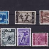 ROMANIA 1937  P 119   U. F. S. R. SERIE  MNH, Nestampilat