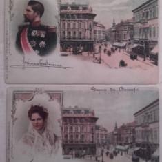 Doua carti postale regale necirculate