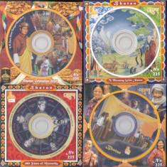 BHUTAN 2007+2009 CD-ROM COLITE - Timbre straine, Nestampilat