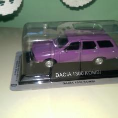 Se vinde macheta dacia 1300 kombi DeA Polonia - Macheta auto, 1:43