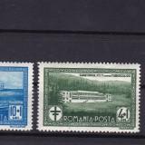 ROMANIA 1932  LP 100  SANATORIUL  PTT  SERIE  MNH, Nestampilat