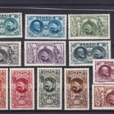 ROMANIA 1927  LP 76  SEMICENTENARUL  INDEPENDENTEI  SERIE MNH, Nestampilat