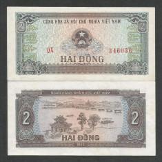 VIETNAM 2 DONG 1980 a UNC [1] P-85a, aproape necirculata - bancnota asia