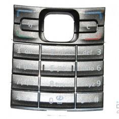 TASTATURA NOKIA E50 Argintie - Tastatura telefon mobil