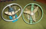 Doua ventilatoare romanesti Electromures anii '70 ventilator