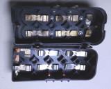 o cutie  baterie pt. statie militara radio transceiver vechi armata din anii 70