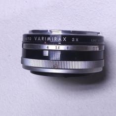 Un adaptor pt. aparat foto vechi obiectiv Auto Varimirax 2x dublor canon - Inel macro obiectiv foto