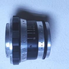 un obiectiv aparat foto vechi fed N-61 functional