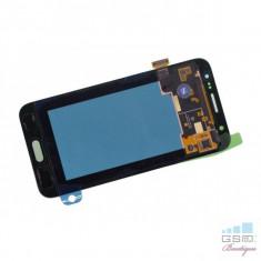 Ecran LCD display Complet Samsung Galaxy J5 SM J500F Negru + Husa Usams Muge Series - Display LCD