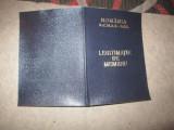 Carnet foarte rar repede nicolae maior in rezerva sri an 1999 c17, Romania de la 1950, Documente