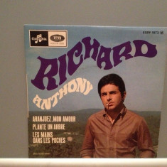 RICHARD ANTHONY - ARANJUEZ, MON AMOUR.... (1964/EMI/FRANCE) - Vinil Single '7/RAR - Muzica Pop emi records