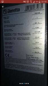 vand camera tehnica pentru foc cu lemne, centrala bereta de 24kw