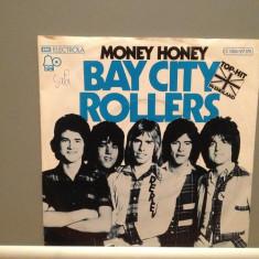 BAY CITY ROLLERS - MONEY HONEY (1975/BELL/RFG) - Vinil Single '7/Impecabil - Muzica Pop ariola