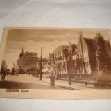 Carte postala - Esbjerg ( Danemarca ) - interbelica, Circulata, Printata