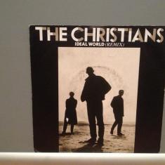 THE CHRISTIANS - IDEAL WORLD/SAY IT ISN'T.(1987/ISLAND/RFG) - Vinil Single '7/NM - Muzica Pop Island rec
