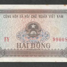 VIETNAM 2 DONG 1980 [2] P-85a, XF - bancnota asia
