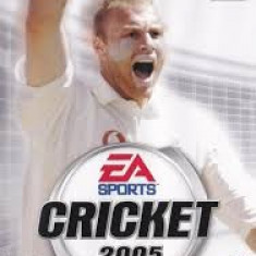EA Sports Cricket 2005 - PS2 [Second hand], Sporturi, 3+, Multiplayer