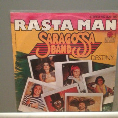 SARAGOSSA BAND - RASTA MAN/DESTINY(1980/ARIOLA/RFG) - Vinil Single '7/Impecabil - Muzica Pop