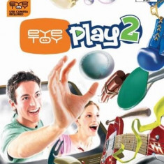 Eye Toy Play 2 - PS2 [Second hand], Board games, 3+, Multiplayer