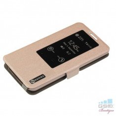 Husa Flip Cover S-View LG G2 D802 Roz - Husa Telefon