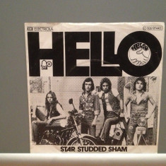 HELLO- STAR STUDDED SHAM/JENNY DREAM(1976/EMI/RFG) - Vinil Single '7/Impecabil - Muzica Pop emi records