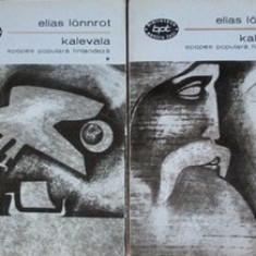Kalevala - Elias Lonnrot vol. I + II - Carte mitologie
