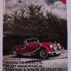 Licitatia de masini de colectie, Catalog Artmark 2012 - Afis