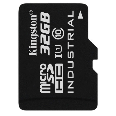 Card Kingston Industrial microSDHC 32GB 45 Mbs Clasa 10 UHS-I U1 foto