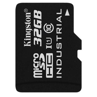 Card Kingston Industrial microSDHC 32GB 45 Mbs Clasa 10 UHS-I U1 foto