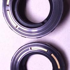 un lot de 2 adaptor aparat foto vechi pentacon filet M 42