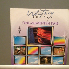 WHITNEY HOUSON - ONE MOMENT IN TIME(1988/ARISTA/RFG) - Vinil Single '7/Impecabil - Muzica Pop
