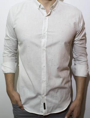 Camasa alba in - camasa slim fit - camasa fashion - camasa barbati foto