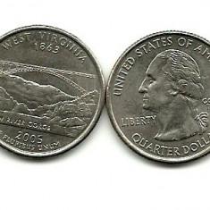 USA quarter West Virginia 2005