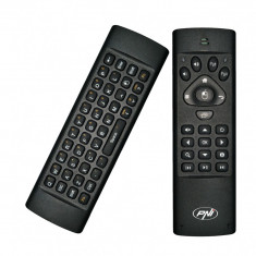 Resigilat : Tastatura PNI AirFun One air mouse si mini tastatura qwerty pt. comput - Media player